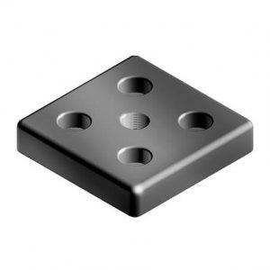 Transport- and Base Plate 90×90 M12 12 Z plain