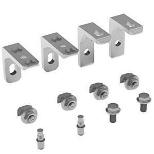 Set suspension bracket 60x49x20 S10 zink